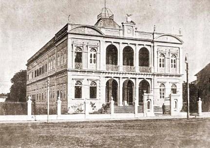 Palácio do Governo em 1920