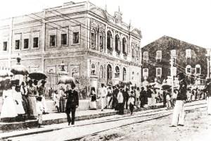 Inauguração do Palácio do Governo em 16 de setembro de 1902