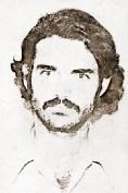 Jefferson Costa em foto da sua ficha no DOPSE