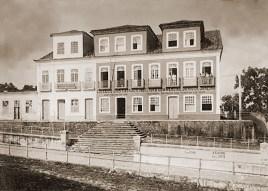 Prédio do Barão de Jaraguá onde funcionou o governo entre 1855 e 1902