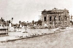 Construção do Teatro Deodoro em 1907