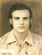 Ronaldo Lessa em 1969 em foto da ficha do DOPSE
