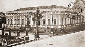 Administração dos Correios em 1907. Hoje Delegacia do Ministério da Fazenda
