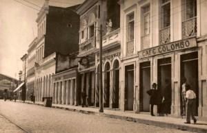 Café Colombo no início do século XX
