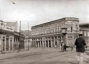 Rua do Comércio na década de 20 do século XX