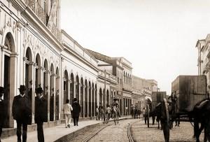 Rua do Comércio nos anos 40