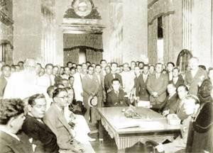 Inauguração do Palácio Comercial em 1928