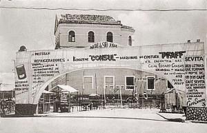Vista lateral da Cadeia de Maceió em 1952