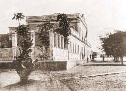 Quartel do 20º BC na Praça da Faculdade