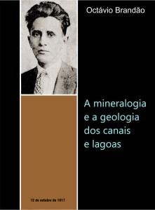 Capa do Livro Octávio Brandão A mineralogia e a geologia dos canais e lagoas