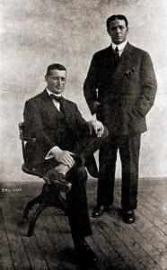 Elysio de Carvalho e o criminalista R.A. Reis em 1913