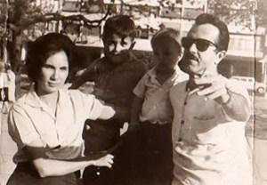 Jayme Miranda com a família
