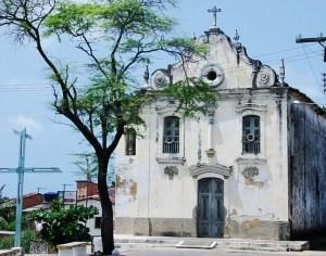 Igreja de Nossa Senhora do Ó antes do início da reforma