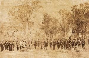 Membros do Batalhão de Voluntários da Pátria, regimento proveniente da província do Ceará, entre 1867 e 1868