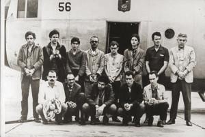 Os treze presos políticos liberados em troca do embaixador Charles Burke Elbrick