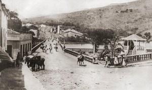 Praça do Açude em Palmeira dos Índios nos anos 30