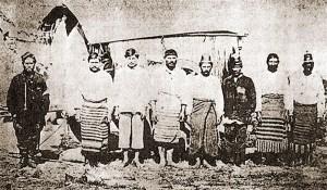 Prisioneiros paraguaios em 1866