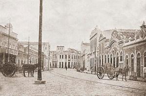 Rua do Comércio em 1920