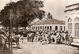 Antiga feira em São Miguel dos Campos