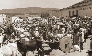 Feira em Santana do Ipanema. Foto Japson