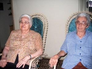 Madre Zely Perdigão Lopes e Irmã Lourdes Mafra