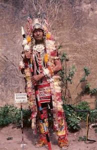 Pedro Tarzan como índio americano
