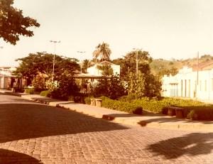 Praça Doutor Pedro Monteiro em São José da Laje