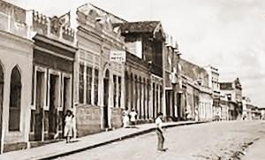 Rua Barão de Jaraguá em São Miguel dos Campos