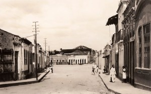 Rua João Pessoa em São Miguel dos Campos