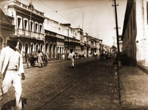 Rua Sá e Albuquerque, em Jaraguá, região portuária da capital