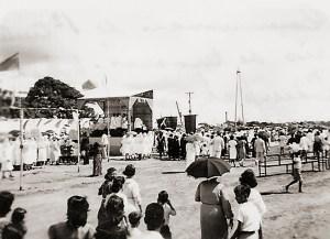 Missa Campal na Praça D. Antonio Brandão em 9 de dezembro de 1939