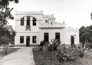 Prédio da antiga Faculdade de Odontologia  Maceió, na Av. Aristeu de Andrade. Foto Japson