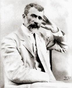 Rosalvo Ribeiro fotografado por Ranulpho em 1906