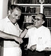 Aurélio Buarque de Holanda e Théo Brandão