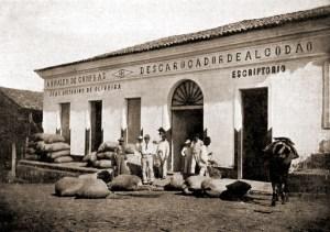 Descaroçador de algodão de João Victorino em União no início dos anos 20