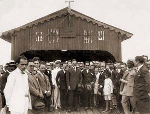 Governador Costa Rego recebe Washington Luiz às 8 horas do dia 11 de agosto de 1926