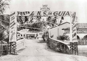 Praça Pingo Dágua em 1952