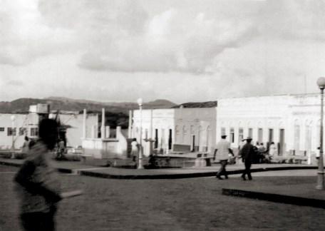 Praça Dr. Campelo de Almeida provavelmente no início da década de 1970