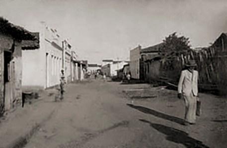 Rua da Palmeira, provavelmente na década de 1940