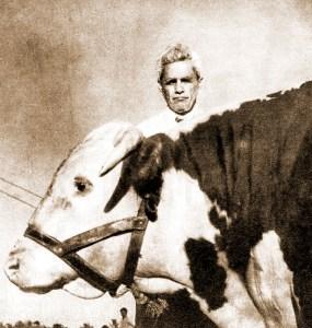 Silvestre avaliava que o zebu era um gado sem classe, comparado a alguns dos seus adversários