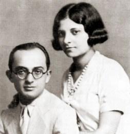 Théo Brandão e Élide Brandão