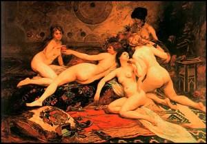 L'heure de gouter, tela, 1914, Pinacoteca do Estado de São Paulo