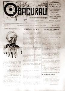 Jornal O Bacurau de agosto de 1925