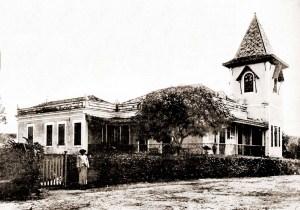 Casa do Diretor do Aprendizado Agrícola de Satuba em 1921