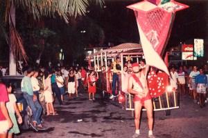 Chico de Assis foi porta-bandeira do Meninos da Albânia por muitos anos