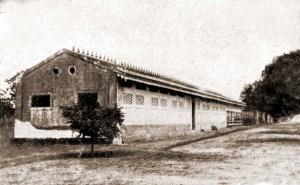 Galpão do Aprendizado Agrícola de Satuba em 1921