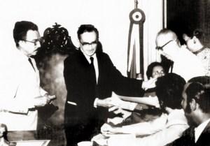 Homenageado pelo governador Afrânio Lages