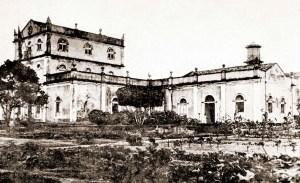 Prédio do Aprendizado Agrícola de Satuba em 1921