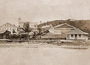 A foto mais antiga sobre Maceió mostra a Praça Sinimbu. É de de Abílio Coutinho em 1869