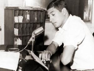 Ailton Villanova, noticiarista da Rádio Gazeta de Alagoas